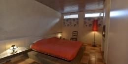 Chambre à lit double